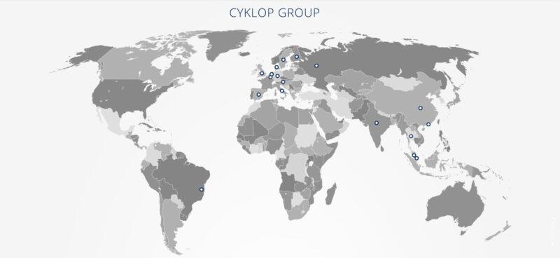 Cyklop Group Header